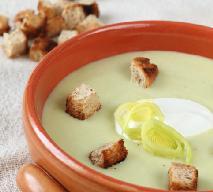 Zupa krem z porów - jak ją zrobić?