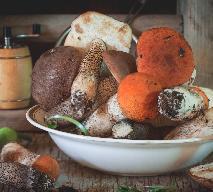 Przetwory z grzybów: marynowane koźlaki