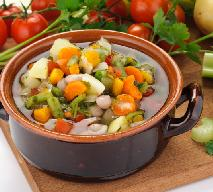 Zupa jarzynowa z fasolą