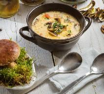 Zupa z prawdziwków z rozmarynem: aromatyczna i łatwa w przygotowaniu