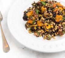 Warzywa  z dzikim ryżem - pyszne danie na zimowy obiad