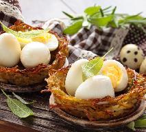 Gniazdka ziemniaczane z jajkami przepiórczymi - obłędny przepis Beszamel