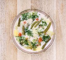 Tradycyjna zupa z fasolki szparagowej
