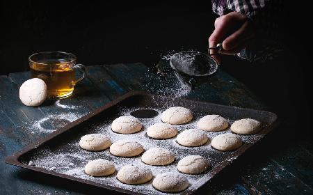 Rozkosznie kruche ciasteczka z twarożku sernikowego