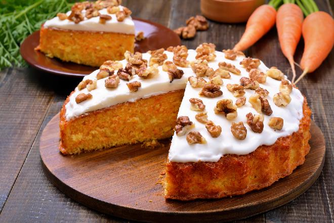 Ciasto marchewkowe z lukrem - najprostszy przepis!