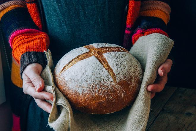 Łatwy chleb pszenny na drożdżach
