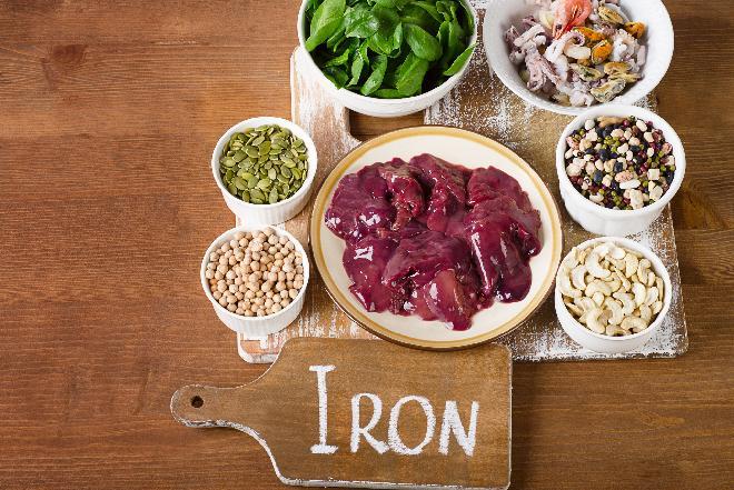 Żelazo w pożywieniu: najlepsze źródła żelaza