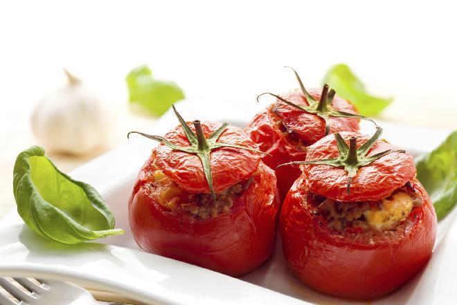 Pomidory zapiekane z rozmarynem